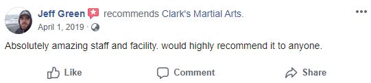 Adult1, Clark's Martial Arts